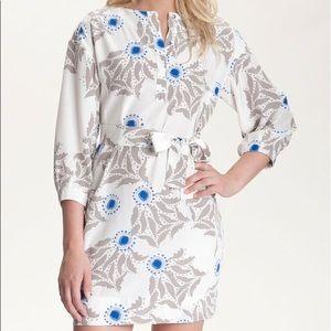 DVF Julieta Printed Shirtdress | 100% SILK